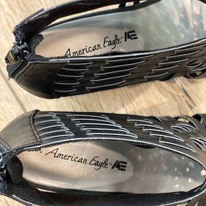 American Eagle Outfitters Shoes - SOLD on Mercari American Eagle Wedge Heel Sandals